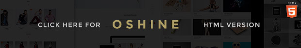 Oshine HTML version