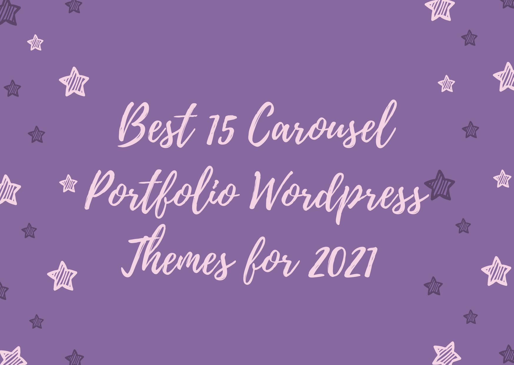 best carousel wp theme