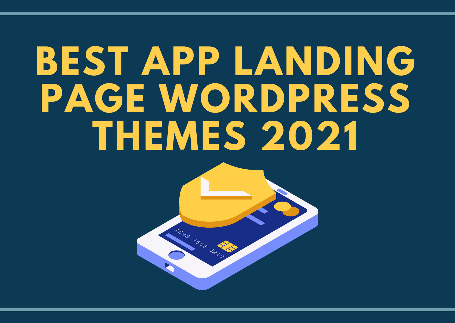 best app landing page wp theme