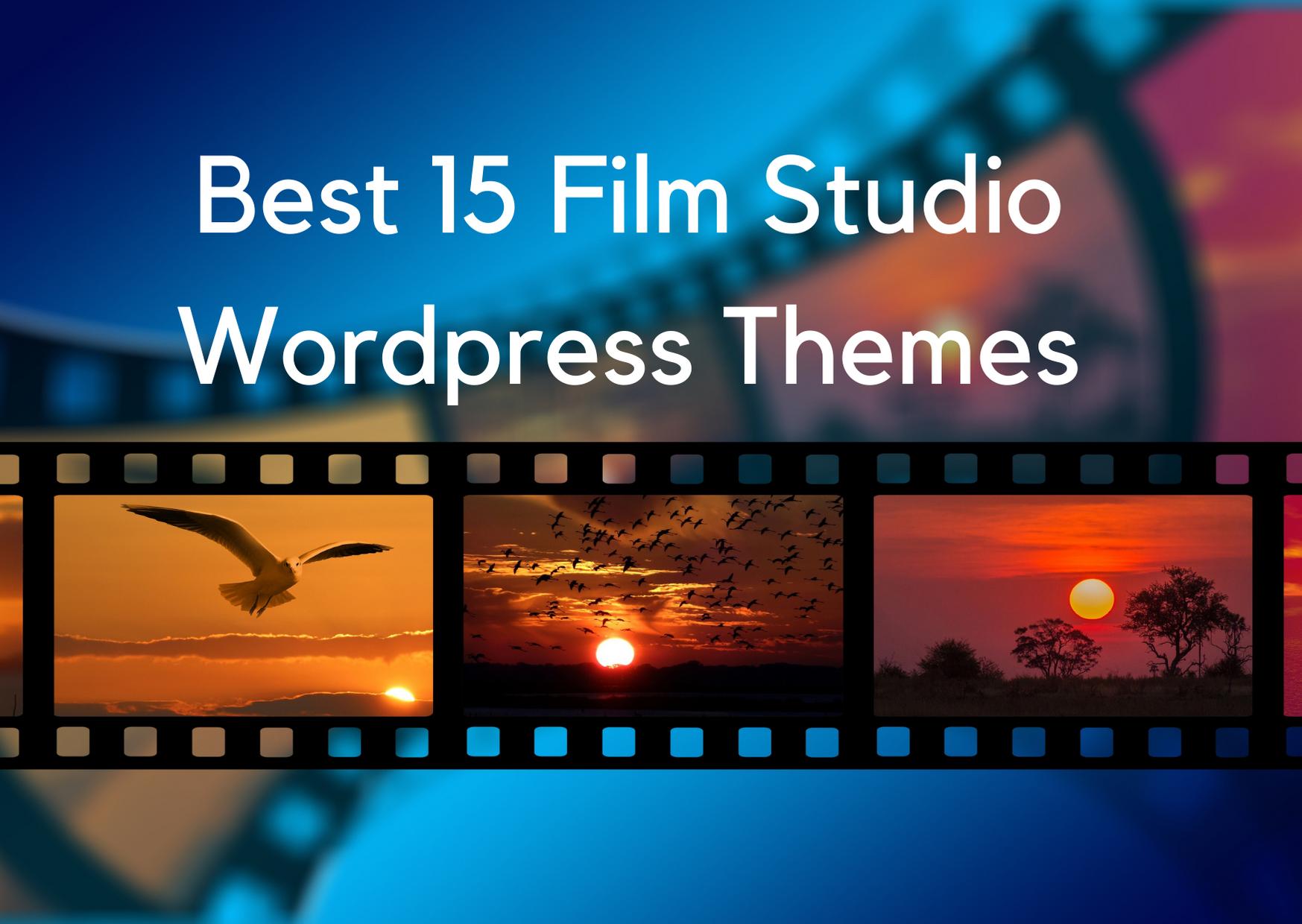 best film studio wp theme