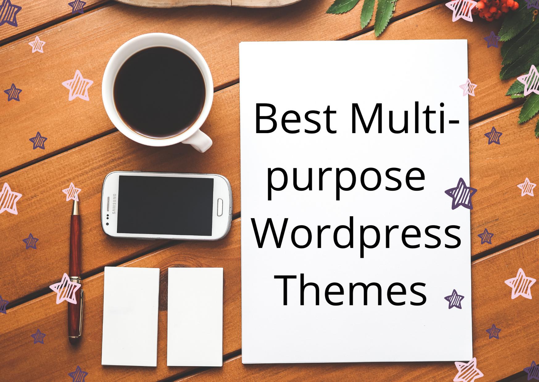best multipurpose wp theme