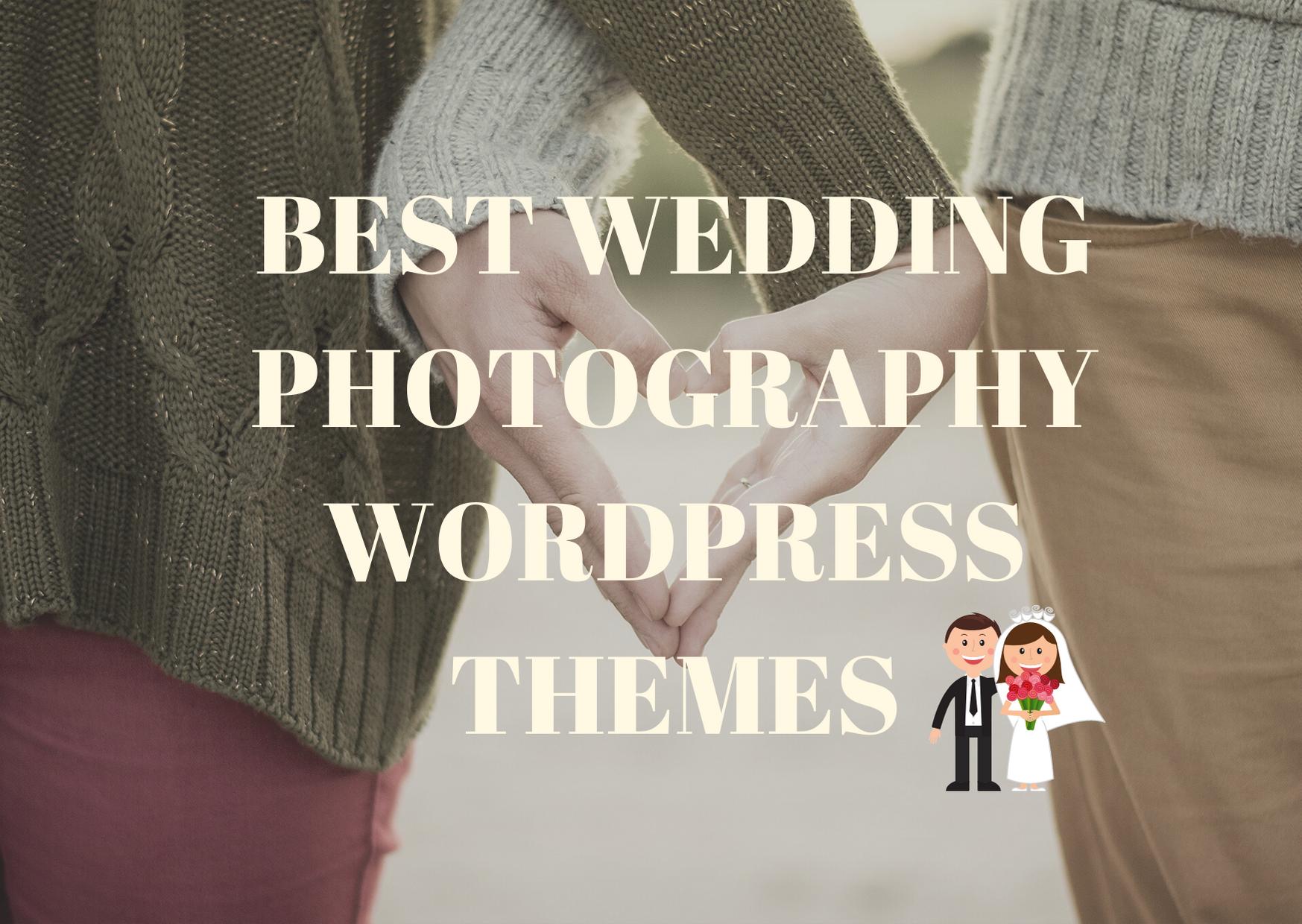 best wedding photography wp theme