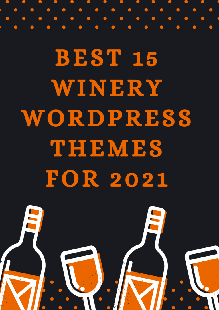 best winery wordpress theme