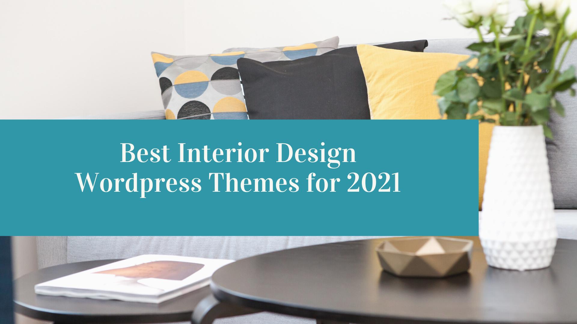 best interior design wp theme