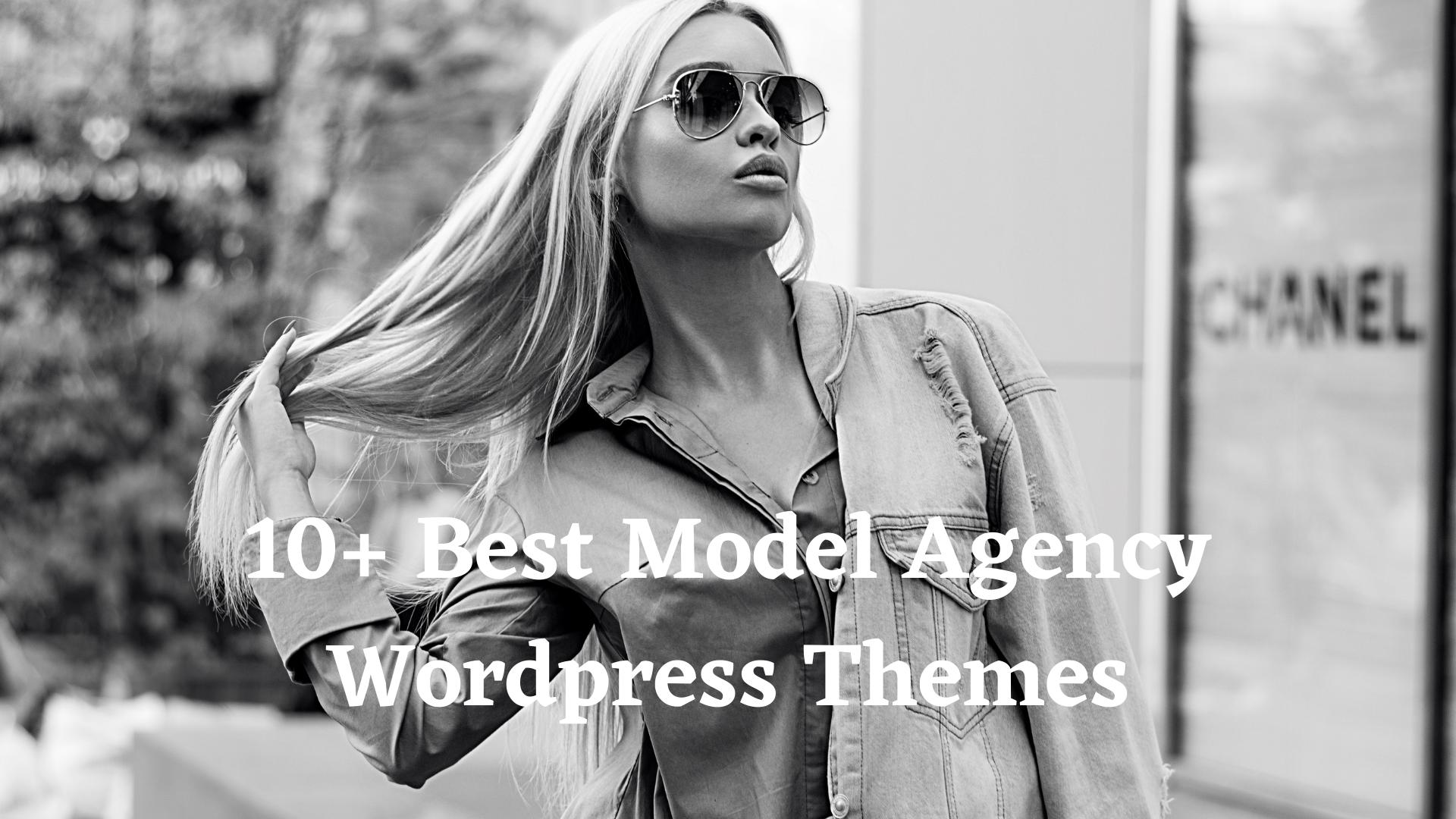 best model agency wp theme