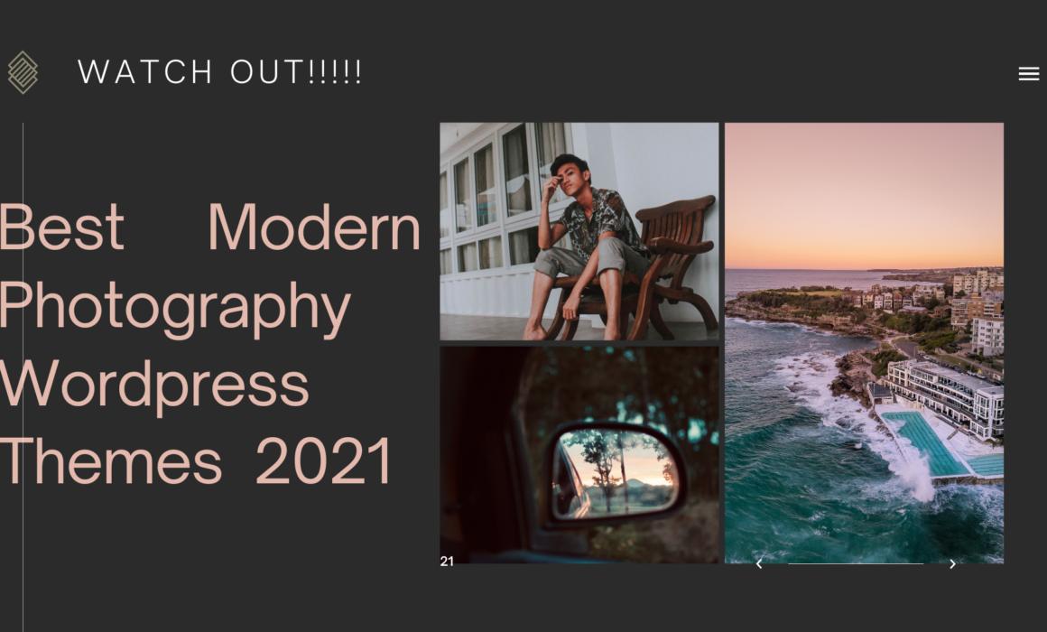 modern photography wp theme