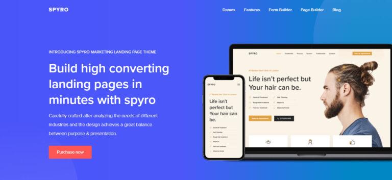 Spyro Wordpres Theme Launch- Banner
